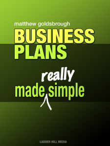 Cover of 'Business Plans Made Really Simple'